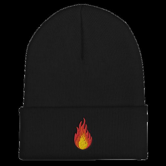 Knit Fireball Beanie
