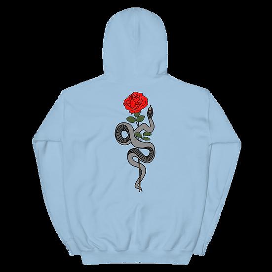 Unisex Rose Hoodie