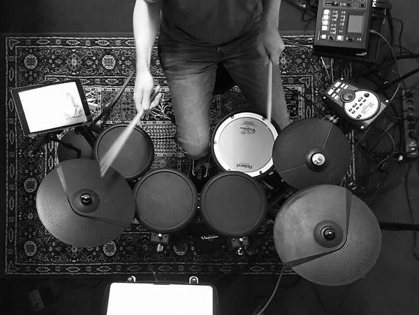 Online-Unterricht Schlagzeug