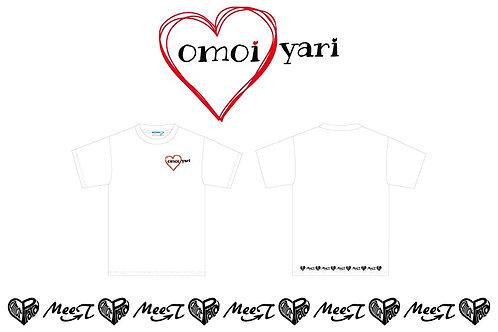「omoiyari」チャリティーTシャツ ※cotton素材
