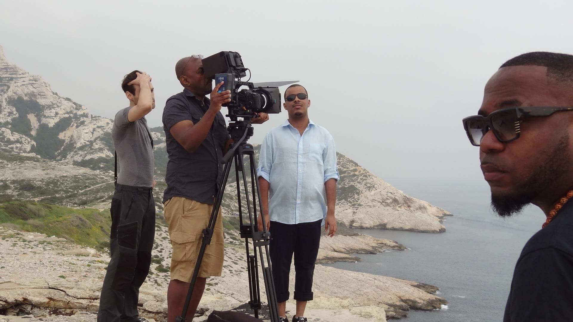 tournage clip Samuel-M
