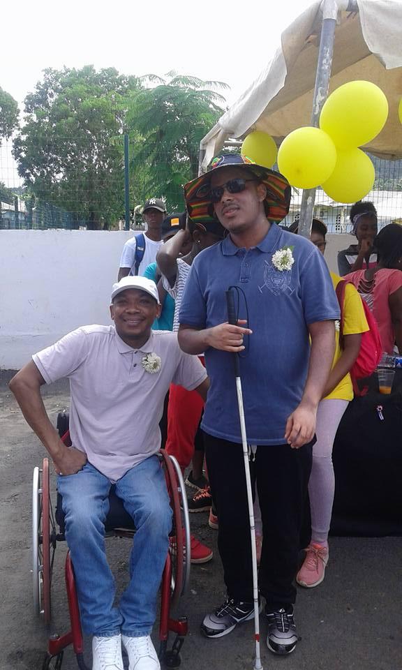 Balou & Samuel au Tour de Mayotte 2018