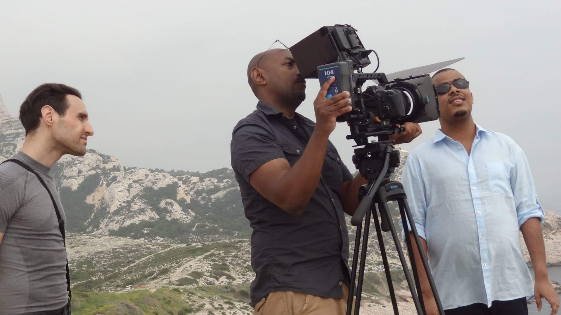 tournage clip Samuel