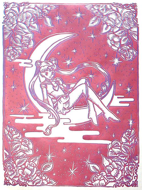 Sailor Moon Pink&Blue Combo