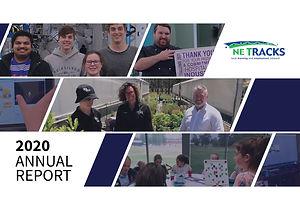 NE Tracks LLEN 2020_Annual Report_Cover.