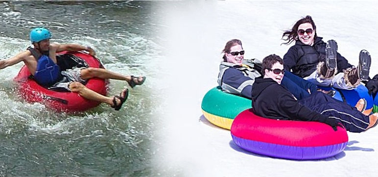 River Tubing and Snow Tubing