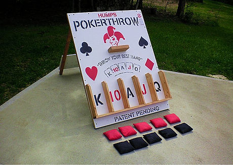 Humps Poker Throw Game Rental