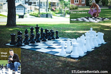 Giant Chess & Checkers Rental