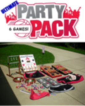 6 Game Ultimate Party Pack Rental