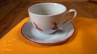 Peinture sur porcelaine 1 - Danser sa vi