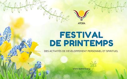 Festival de printemps - Danser sa vie -