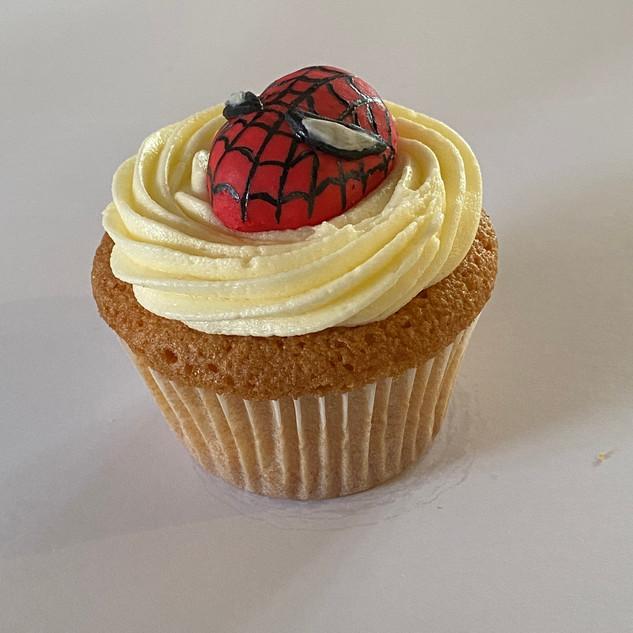 MCC320 - Spiderman Cupcake