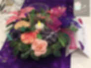 Round cupcake table centre arrangement (