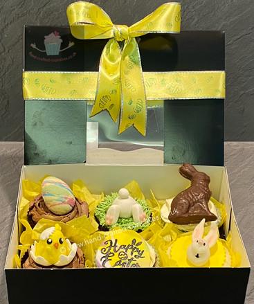 EAS-120 Easter 6 Cupcake Selection Box O