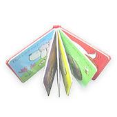libro de niños con cubierta con esponja