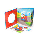 children book with puzzles