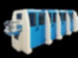 Copertinatrice automatica per la produzione di copertine fino a 6 pezzi, corredata di:Alimentatore a