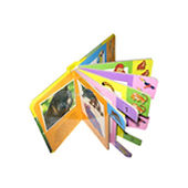Máquina troqueladora de libros para niños