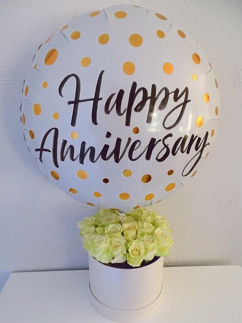 Anniversary Bloom Box £40 - £54