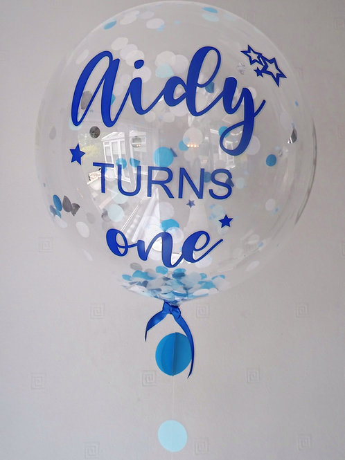 Personalised Bubble Balloon £28