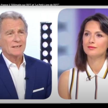 """EFT : Extrait de l'émission de France 2 Télématin sur l'EFT et """"Le Petit Livre de l'EFT"""""""