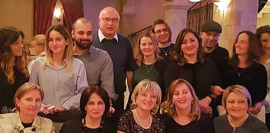 Bravo Travel Team + Eliava Phage Therapy Center Team