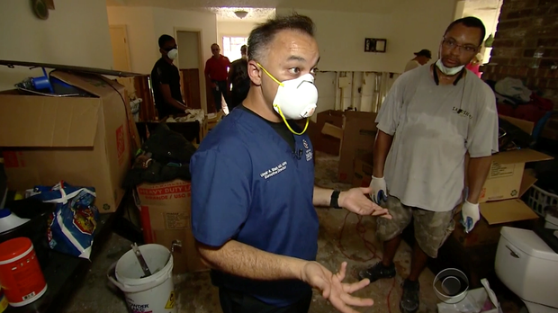 Umair A. Shah, MD, MPH  - Executive Director of Harris County Public Health aids in Hurricane Harvey response efforts.