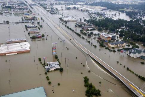 Harris County flooding