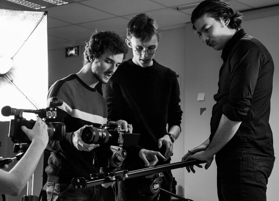 Emile Rivet - Photographies du tournage