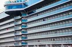 cruiseship side