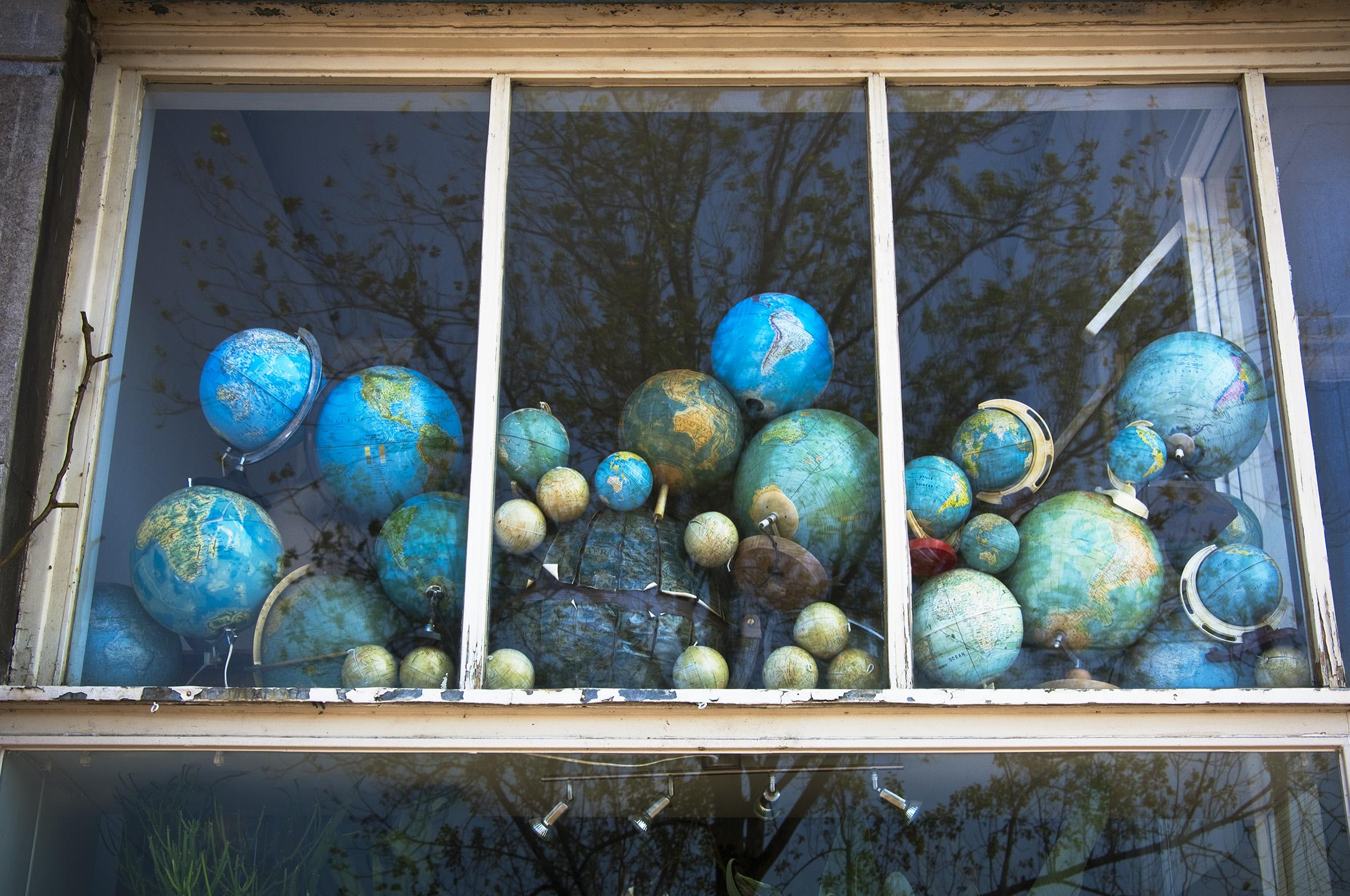 globes window