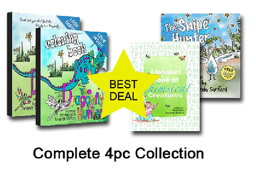 CRITTER CRAWLER COMPLETE COLLECTION - 4pc set