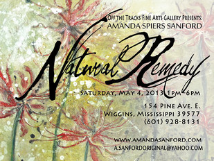 Natural Remedy, Gallery Exhibition by Amanda Sanford