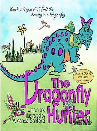 THE DRAGONFLY HUNTER - autographed hardback