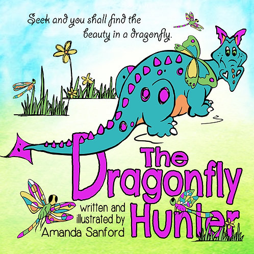 THE DRAGONFLY HUNTER - autographed hardback
