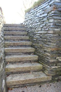 Granite Staircase
