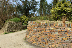 Dry Stone Drive Entrance