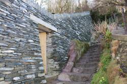 dry stone wall gateway