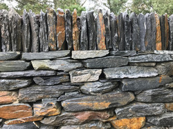 Delabole Dry Stone Wall