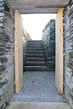 Granite Stairway