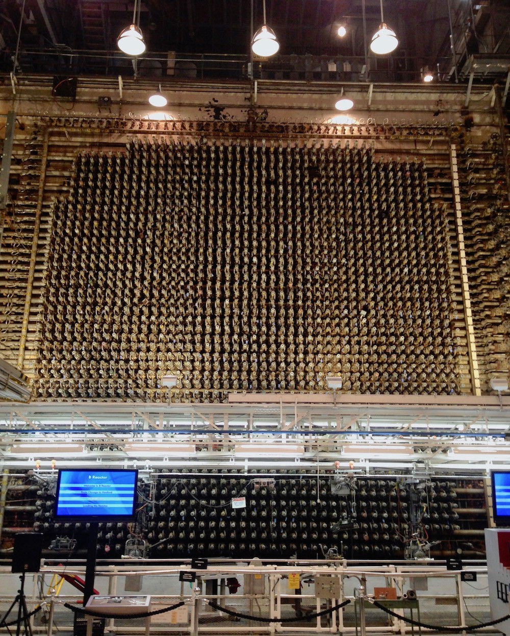 B reactor as seen in 2017, at the Hanford site, Richland, Washington
