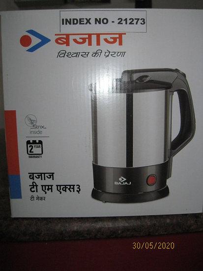 BAJAJ MAJESTY TEA MAKER CODE 420037 TM X 3