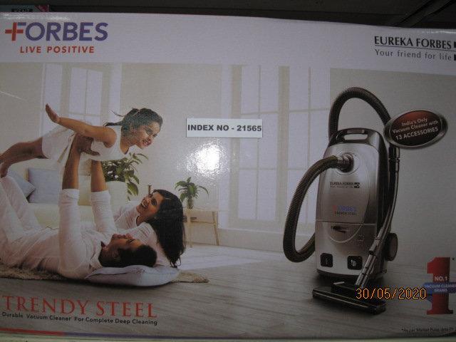 FORBES TRENDY STEEL VACUUM CLEANER 1100 WATTS EUREKA