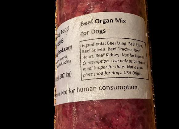 Beef Organ Mix