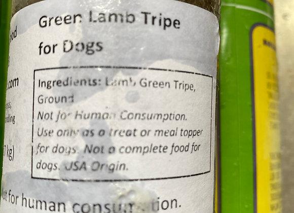 Grass Fed, Midwest Green Lamb Tripe