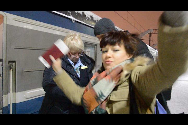 Поезд Москва - Хельсинки