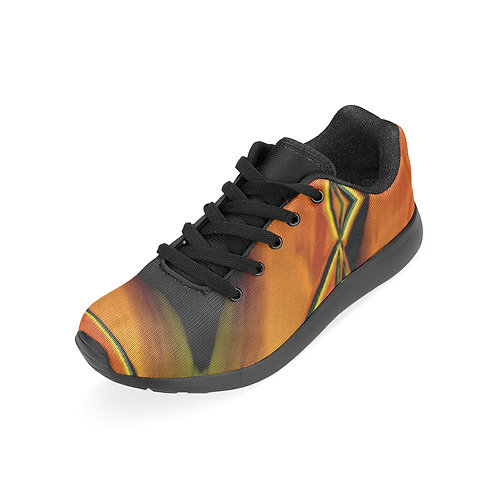 Yellow Kaleidoscope #8 - Running Shoes