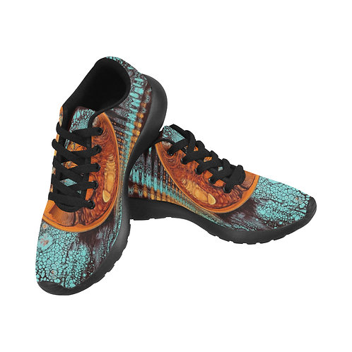 Turquoise Running Shoes