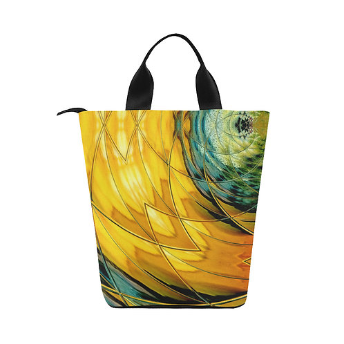 Yellow Delight - Lunch Tote (Small)