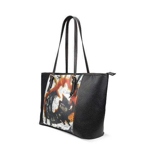 Lizard Leather Tote (large)